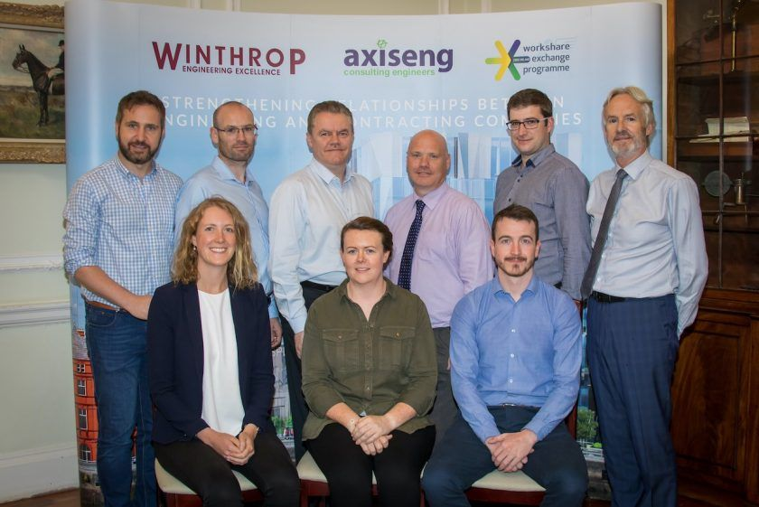Axiseng Part of the Inaugural CIBSE Ireland Workshare Exchange Programme